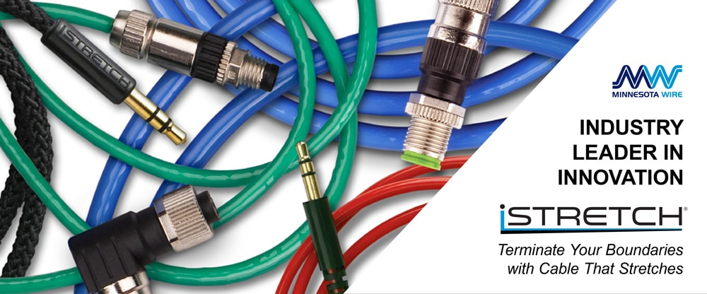 iSTRETCH Wire and Cables with connectors.